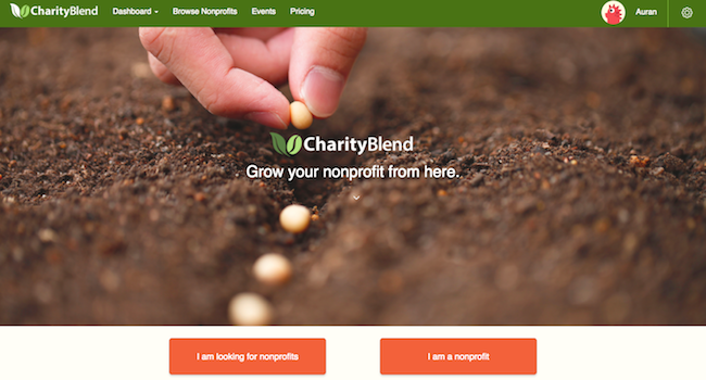 CharityBlend screenshot